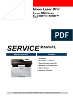 SVC Manual M288x Series Eng