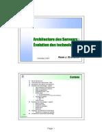 Architecture Des Serveurs - Technologies