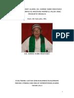 Biografi Kh. Subki Masyhadi