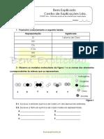 C 1.4 Fórmulas Químicos de Substâncias Moleculares Ficha de Trabalho 1