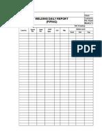 Welders Report