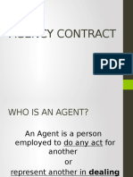 3 Agency Contract