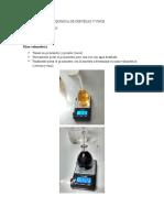 Evaluación Fisico Química de Cervezas y Vinos