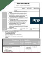 Plan de Evaluacion Quimica b4 16-17