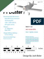Ft Duster Tiled Plans