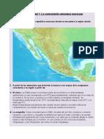 Actividad 1. La Contrastante Naturaleza Mexicana