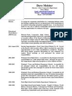 Resume Feb 17