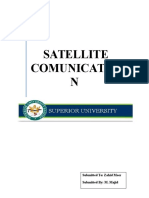 Settlite Communication