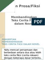 Perbandingan Teks Fiksi Dlm Novel