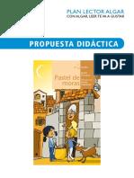 Pastel de Moras PDPL
