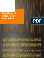 The Role of Voice-Over Narration