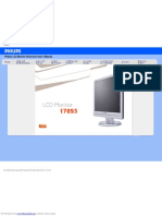 Philips 170 S5 Monitor_user manual