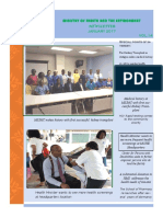 Ministry of Health & the Environment Newsletter, January 2017 Issue