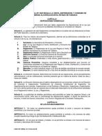 Reglamento de Alcoholes 2014