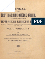 Manual de drept bisericesc ortodox - Nicolae Popovici - 1925.pdf