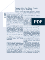 Planned Change at the San Diego County Regional Airport Authority Case study By Rehan Ali Kango