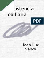 Nancy - La Existencia Exiliada