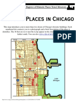 Chicago Travel Itinerary--Map of Places