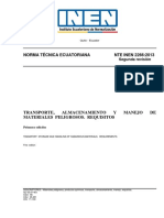 NTE INEN 2266-2013