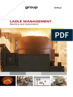 Electric and Automation- Ladle Management a-323E
