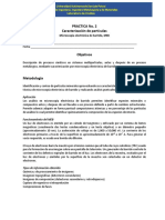 Práctica 2 Análisis de Partículas Meb Laboratorio Cinética