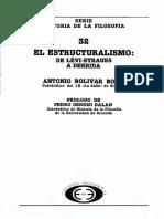 Bolivar Botia Antonio - Historia de La Filosofia 32 - El Estructuralismo