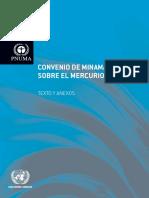 Convenio de Minamata Sobre El Mercurio (OUT, 2013)