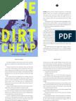 DONE DIRT CHEAP Chapter Excerpt