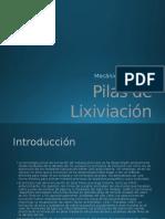 Pilas de Lixiviación PPT