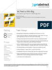 Fail Fast or Win Big Summary Abstract