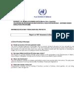 Monica Alejandra Gaeta (Bs. As., Argentina) - Docente Naciones Unidas-Nicaragua -Reporte