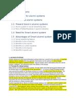 Alumni Systems
