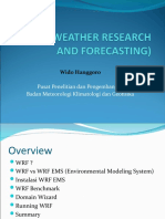 Wrf (Weather Research and Forecasting)