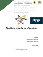 Plan Nacional Ensayo