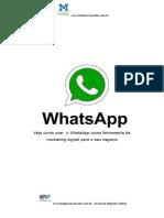 E-book WhatsApp o Poder Da Lista de Transmissão