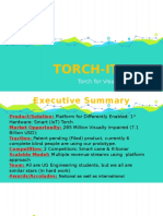 Torch-It, Torch for Visually Impaired