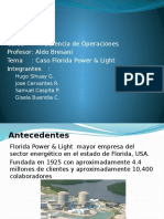 PPT - Caso Florida Power Light