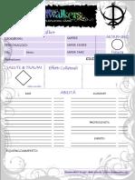 Dreamwalkers Scheda Ver1.0