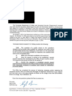 Safety & Homeland Security Documents