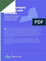 Syracuse-Buffalo Immigration Study