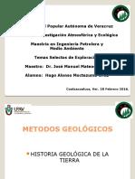 Metodos Geológicos