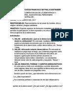 Programa Para La Democracia- FCO de PAULA SANTANDER