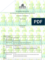 Programa Final SPEU