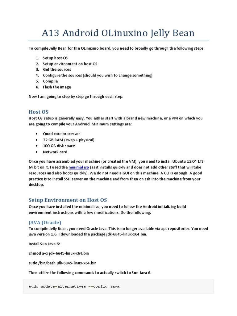 Compilation Guide A13 AllWinneR | Ubuntu (Operating System