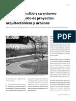 Analisis de Sitio en proyectos Urbanos.pdf