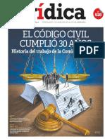 EL CÓDIGO CIVIL CUMPLIÓ 30 AÑOS