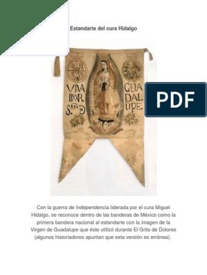 Estandarte Del Cura Hidalgodoc Símbolos México