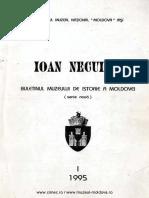01 Ioan Neculce Buletinul Muzeului de Istorie a Moldovei 1995