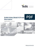 Telit GL865-DUAL QUAD V3 Product Description r6