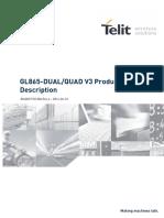 Telit GL865-DUAL QUAD V3 Product Description r6